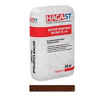 Темно-коричневый кладочный раствор облицовочный HAGAST KS-760